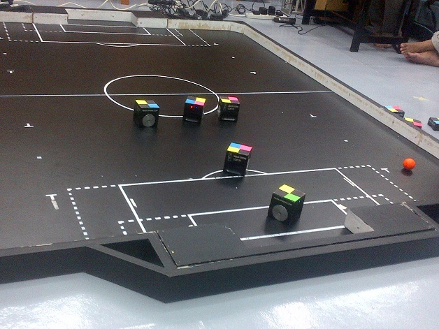 Mirosot - Real Time Robot Soccer