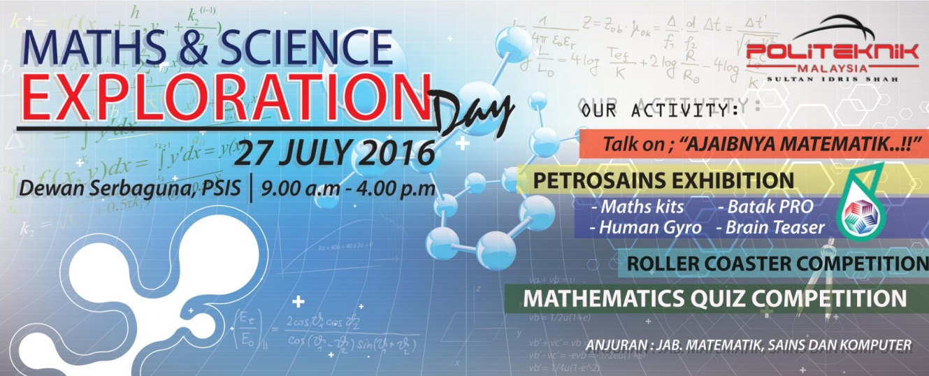 Maths & Science Exploration Day