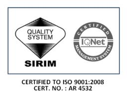 PSIS MS ISO 9001:2008 Certification Logo
