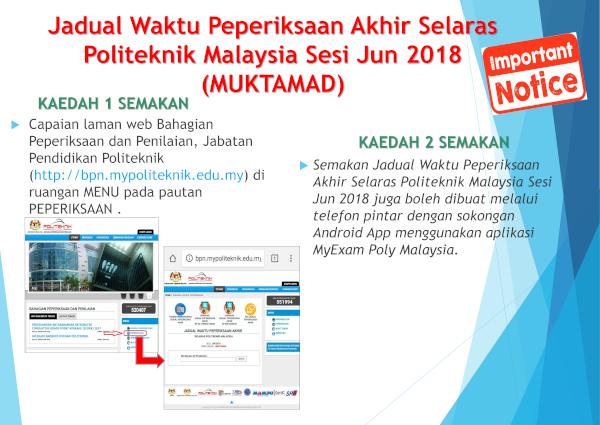Laman Web Rasmi Politeknik Sultan Idris Shah
